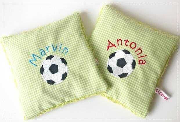 Kirschkernkissen Fußball Duo