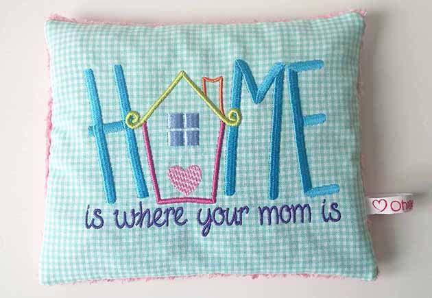 Kirschkernkissen HomeMom zum Muttertag